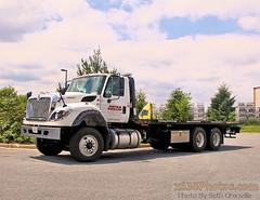 Metro Bobcat Truck 45 (Seth Granville) Tags: metro bobcat truck flatbed equipment international workstar awd jerr dan 2014 jerrdan