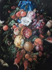 Festton of Fruit and Flowers, Rijksmuseum (yon_willis) Tags: amsterdam nederland rijksmuseum museum jandavidszoondeheem art artgallery 2014 painting thenetherlands festoonoffruitandflowers