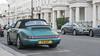 Aircooled (Georgi Tinkov) Tags: porche car london knightsbridge belgravia turquoise cabriolet streetphotography