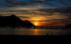 San Sebastián - Vacanze 2017 (auredeso) Tags: sansebastián spagna espana paesi baschi paesibaschi nikond7100 sigma1770 nikon d7100 tramonto mare sea sun golden