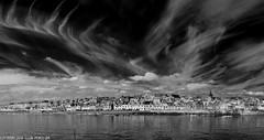 D7K_9120-Pano: Pittenweem, Fife, Scotland (Colin McIntosh) Tags: infrared pittenweem scotland nikon d7100 kolari 720nm filter 16mm f35 landscape seascape