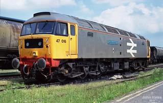 47016 at King's Lynn on 29 Jun 87.