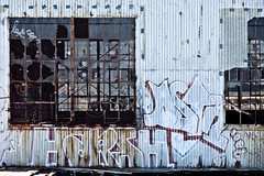 Harsh (Thomas Hawk) Tags: california dogpatch dogpatchdistrict sanfrancisco usa unitedstates unitedstatesofamerica graffiti fav10