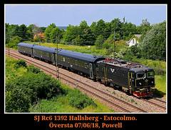 Black face (Powell 333) Tags: sj rc 1392 rc6 asea oversta översta hallsberg estocolmo maquina máquina convencional canoneos80d eos80d canon eos 80d sweden suecia europa europe tren tag trenes train trains ffcc ferrocarril railway railways