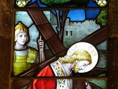 Church - St Mary, Kirkby Lonsdale 180405 [Atkinson Memorial Window b] (maljoe) Tags: church churches stmarys kirkbylonsdale stmaryskirkbylonsdale stmaryschurchkirkbylonsdale stainedglass stainedglasswindow stainedglasswindows