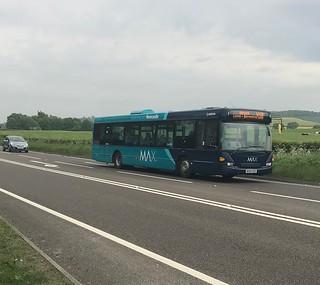Arriva North East Scania Omnicity NK05GXO 4659