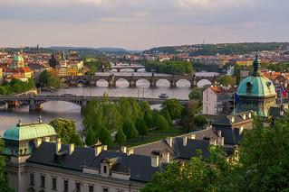 Über den Brücken von Prag - Above the bridges of Praque