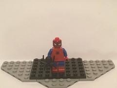 Lego Custom: Spoderman (Captain Crafter) Tags: lego marvel comics custom spoderman spoder man spider spiderman meme memes dank dolan gooby mlg