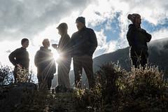 Group of trekkers at Robluthang - Gasa District - Snowman Trek - Bhutan (PascalBo) Tags: nikon d500 asie asia southasia asiedusud drukyul drukgyalkhap bhutan bhoutan འབྲུག་ཡུལ། འབྲུག་རྒྱལ་ཁབ་ snowman trek trekking hike hiking lunana himalaya himalayas jigmedorjinationalpark trekker montagne mountain gasa people sunset couchedesoleil sun soleil outdoor outdoors pascalboegli