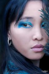 Juliette (Romane Jacquin Photographie) Tags: eyes woman blue nature makeup light look paris portrait photography pentax photoshoot