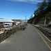 Welsh Highland Railway from the Old Caernarfon Station