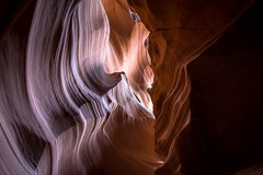 Antelope Canyon in Northern Arizona.