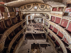 Abandoned theater (NأT) Tags: abandoned abandon abandonné abandonnée abbandonato abbandonata ancien ancienne alone architecture zuiko explorationurbaine em1 exploration explore exploring empty explo explored rust rusty ruins rotten trespassing theater théâtre teatro spectacle show urbex urban urbain urbaine urbanexploration interdit interdite intérieur interior inside interieur inexplore olympus omd old oubli oublié oubliée past photography decay decaying derelict dust decayed dusty forgotten forbidden lost light nobody neglected building verlassen creepy