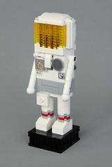 Astronaut Nutcracker (-LittleJohn) Tags: lego moc creation nutcracker costume outfit suit helmet design