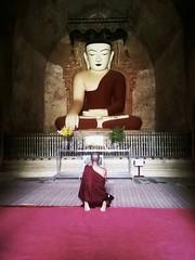 🙏🙏🙏Bagan (khinmyatnoethue) Tags: monk buddha