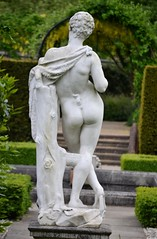 Unknown artist - Pan with Pipe, Kew Palace, Royal Botanic Gardens, Kew, Surrey, May 2014 - 9 (ketrin1407) Tags: pan statue sculpture marble pipe flute woodwind nude naked sensual erotic mythology unknownartist unknowndate kew kewgardens royalbotanicgardens surrey