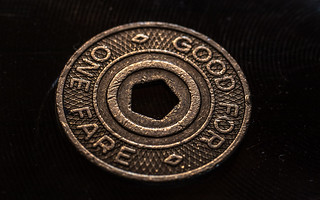NYC Subway Token side 2