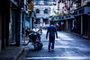 almost summer, early morning (Alex Szymanek) Tags: blue street early morning shanghai china quiet piece planet earth is waking up