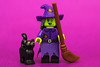 Wacky Witch (cuurchk) Tags: lego legominifigure collectibleminifigures legocollectibleminifigures series14 legocms wackywitch wackywitchminifigure wackywitchminifig minifigure minifigures minifigs build create legophotography toyphotography minifigurephotography legoportrait halloween