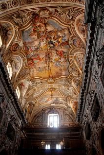 Volta della Chiesa S. Caterina d'Alessandria - Palermo