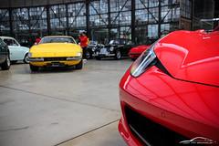 IMG_8568 (Joop van Brummelen) Tags: meilenwerk classic remise duesseldorf düsseldorf cars classics classicremise coupe roadster ferrari 488 458 599 testarossa