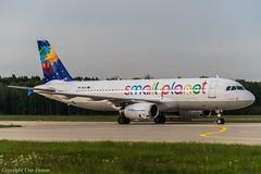 Small Planet Airlines YR-SEA (U. Heinze) Tags: aircraft airlines airways airbus haj hannoverlangenhagenairporthaj eddv planespotting plane flugzeug nikon