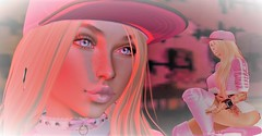 Skater Gal (Angel Rainbow Girl) Tags: secondlife snapshots avatars photos blog blogging maitreya catwa truth letre exploring bdc fashion art skate