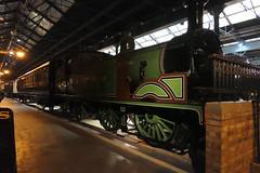 LSWR245-09 (Ian R. Simpson) Tags: 245 londonsouthwesternrailway lswr m7 044t tankengine steam engine locomotive loco nationalrailwaymuseum nrm york 30245 southernrailway britishrailways nrmojectnumber{19787020} yorkshire england uksteam preserved