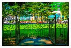 Speakers Corner (Timothy Valentine) Tags: 2018 large 0518 city park friday fence providence rhodeisland unitedstates us