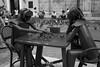 Endless game (Mariano Colombotto) Tags: cartagenadeindias cartagena colombia street urban city sculptures travel nikon ngc blackandwhite blancoynegro bnw streetphotography