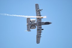 Gunfighter skies 2018 (Who Jets) Tags: a10 thunderbolt canon 70d sigma 100500mm airshow mountainhome idaho gunfighterskies