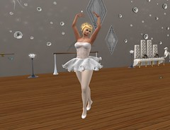 Ballerina (wendy.warner2) Tags: second life ballet dance tutu tights slippers studio grace beauty