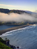 Morning Fog, Klamath River Overlook (optimalfocusphotography) Tags: usa landscape nature nationalpark humboldtcounty waves northerncalifornia california beach ocean river mist sunrise telephoto fog redwoodnationalpark coast water sea