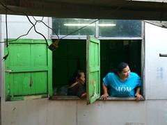 Love mom (jhpiipponen) Tags: people thailand bangkok suburb