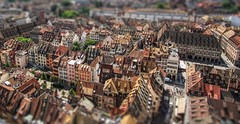 Petit France (Parchman Kid (Jerry)) Tags: scenic view parchmankid sony a6000 strasbourg tilt shift effect ilce6000 samyang 12mm strasburger münster