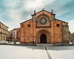 Imagen Iglesia de San Pedro (Jose Pinero) Tags: avila españa iglesia san pedro color medieval urbano urban religion