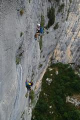Pour une poignée de gros lards, Gorges du Verdon (Vivien Jouan) Tags: verdon escalade climbing gorges