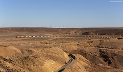 Aqaba Railway Corporation 702 + 704 Batn al Ghul (I) (OliverHeckmann) Tags: jordan jordanien arc aqaba railway corporation 702 704 ge u24 phosphatzug phosphatetrain batnalghul hedjazbahn