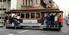San Francisco Cable Car (Stabbur's Master) Tags: california sanfrancisco cablecar sanfranciscochinatown chinatown publictransit publictransportation ridingpublictransportation sanfranciscocablecar