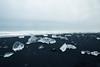 Something like Earth (lu★) Tags: iceland ice black sand beach iceberg diamond dark nature cold