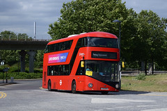Arriva London LT574 (LTZ1574) on DLR Rail Replacement (hassaanhc) Tags: arriva arrivalondon wright wrightbus
