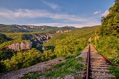 Vela Draga s južne strane (MountMan Photo) Tags: veladraga učka istra croatia landscape kanjon canyon željezničkapruga flickrunitedaward