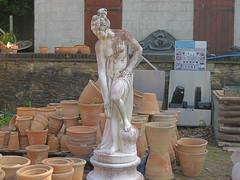 Statue (MonkeysBirthday) Tags: garden pots terracotta earthware statue woman girl bestphoto2007