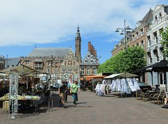 When men like to go to the market, they call that scientific research. (~Ingeborg~) Tags: meinge haarlem markt degrotemarkt lovelyweather photowalkwithfrank sunandclouds gemeentehuishaarlem man scientificresearch wetenschappelijkonderzoek candid