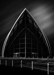Armour (TS446Photo) Tags: architecture nikon longexposure fineart building mono blackandwhite contrast lines clouds smooth concert hall modern art artist