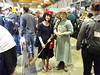 Kiki from Kiki's Delivery Service and Sophie from Howl's Moving Castle (Sconderson Cosplay) Tags: supanova sydney 2018 cosplay flash howls moving castle sophie kikis delivery service kiki studio ghibli