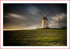 Only thing moving is the clouds (Deek Wilson) Tags: ballycopelandwindmill millisle windmill ardspeninsula sky landscape northernireland landmark longexposure leebigstopper