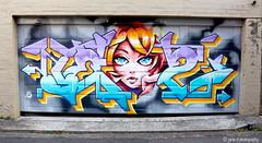 Revisits May 2018 (janie.d (urban burbler)) Tags: streetart urban art paintgraff oldschool freehand innerwest graffiti dirtywall