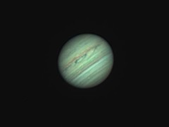 20180527 22-47UT Jupiter RRGB (Roger Hutchinson) Tags: jupiter london astrophotography astronomy space solarsystem planets celestronedgehd11 asi174mm televue powermate