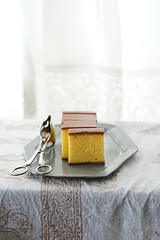 castella (nearbyescape) Tags: sweets delicious tabletop table afternoon treat food styling tasty dessert happy bokeh sony alpha yum
